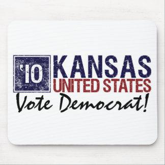 Vote Democrat in 2010 – Vintage Kansas Mouse Pad