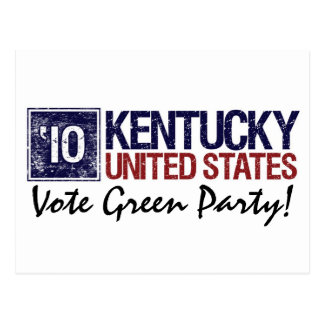 Vote Democrat in 2010 – Vintage Kentucky Postcard