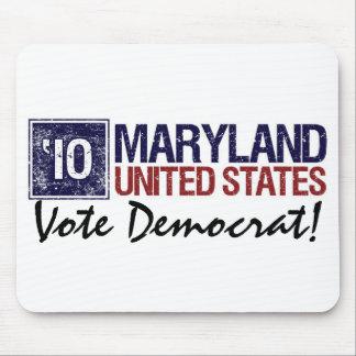 Vote Democrat in 2010 – Vintage Maryland Mouse Pad