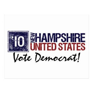 Vote Democrat in 2010 – Vintage New Hampshire Postcard