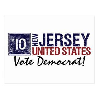 Vote Democrat in 2010 – Vintage New Jersey Postcard
