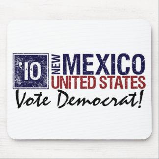 Vote Democrat in 2010 – Vintage New Mexico Mouse Pad