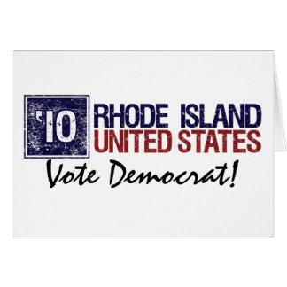 Vote Democrat in 2010 – Vintage Rhode Island Greeting Cards
