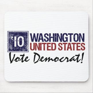 Vote Democrat in 2010 – Vintage Washington Mouse Pad