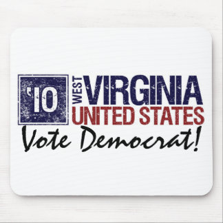 Vote Democrat in 2010 – Vintage West Virginia Mouse Pad