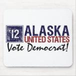 Vote Democrat in 2012 – Vintage Alaska Mouse Pads