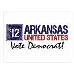 Vote Democrat in 2012 – Vintage Arkansas Postcard