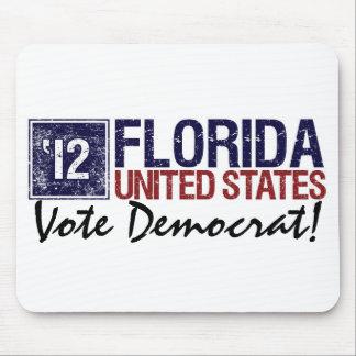 Vote Democrat in 2012 – Vintage Florida Mouse Pad