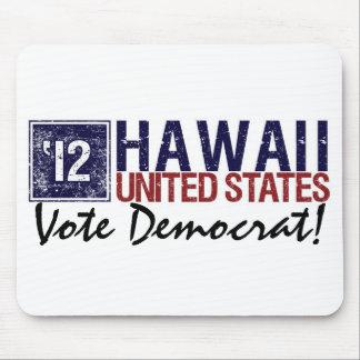 Vote Democrat in 2012 – Vintage Hawaii Mouse Pad