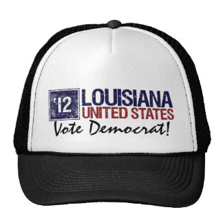 Vote Democrat in 2012 – Vintage Louisiana Trucker Hat