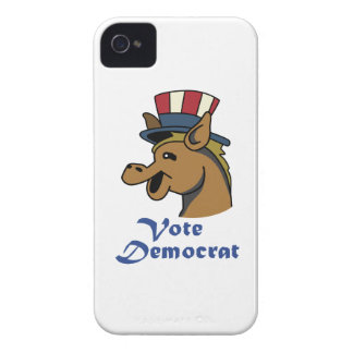VOTE DEMOCRAT iPhone 4 Case-Mate CASES