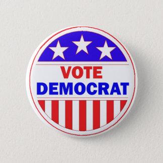 Vote Democrat Pinback Button