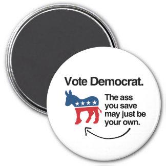 VOTE DEMOCRAT -.png Magnet