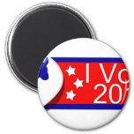 ¡Voté Democratic en 2010! Imán De Nevera