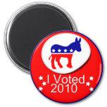 ¡Voté Democratic en 2010! Imanes