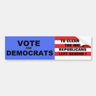 Vote Democrats Bumper Stickers