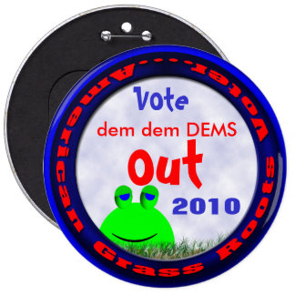 Vote DEMS Out Pinback Buttons