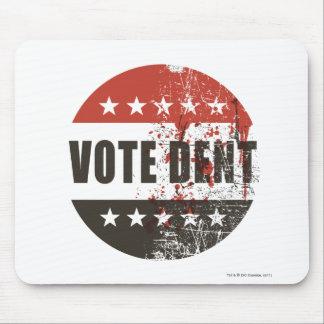 Vote Dent sticker Mouse Pad