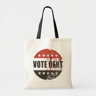Vote Dent sticker Tote Bag