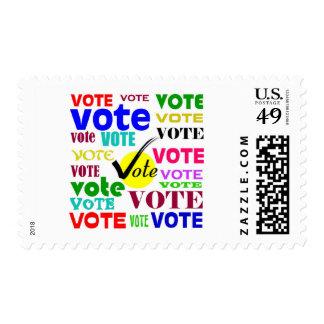 VOTE DESIGN POSTAGE STAMP