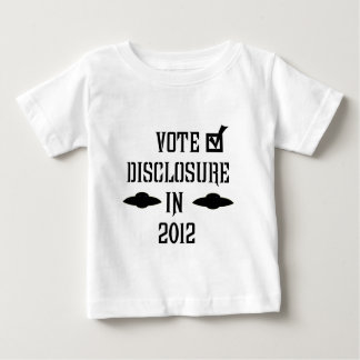 Vote Disclosure in 2012 Baby T-Shirt