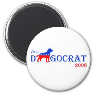 Vote Dogocrat Magnet
