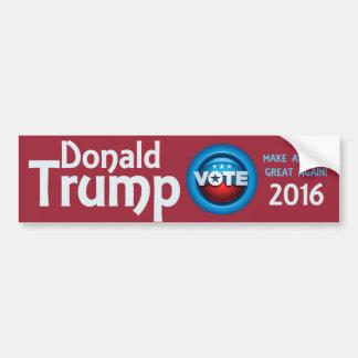 Vote Donald Trump 2016 Bumper Sticker