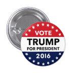 "Vote Donald Trump for President 2016 Pin 1"""