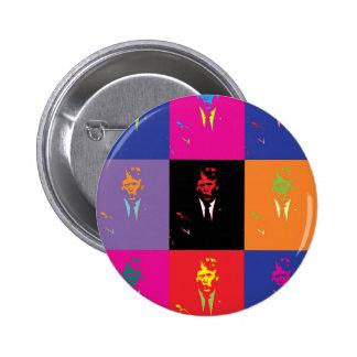 Vote Donald Trump for President 2016 Pop Art Pinback Button