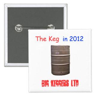 Vote el barrilete en 2012 pin