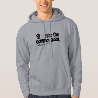vote el hoodie. del BIEN COMÚN Sudadera