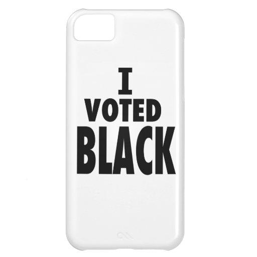 Voté el negro, regalos de los triunfos de Obama