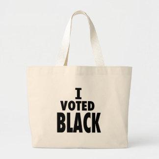 Voté el negro regalos de los triunfos de Obama Bolsa