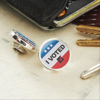 Voté el Pin conmemorativo
