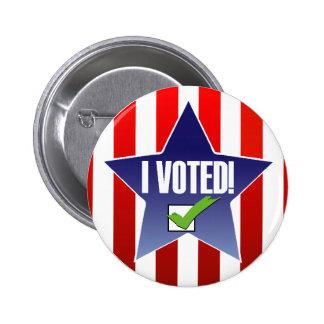 Voté el Pin de la elección