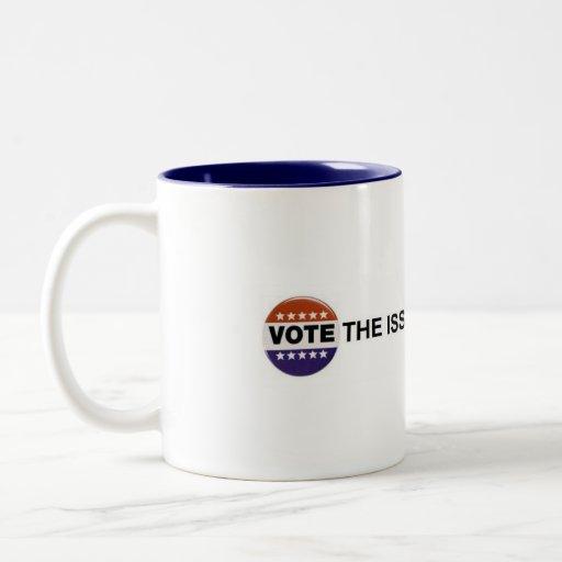 vote el problema no el fiesta taza dos tonos