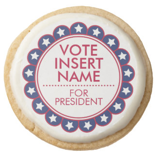 Vote Election Cookies Campaign Party Favors Gift