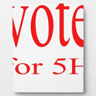 vote election republic democrat 2016 coming 5h fif plaque