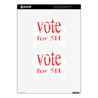 vote election republic democrat 2016 coming 5h fif xbox 360 controller decal