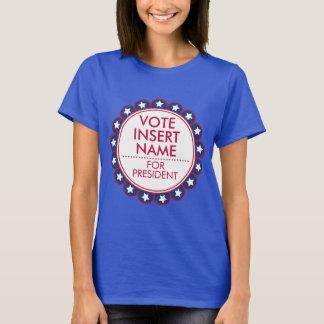 Vote Election Women T-Shirt Political Campaign