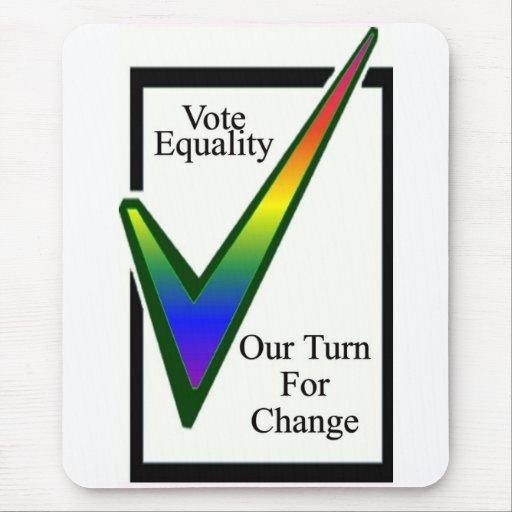 Vote Equality Mouse Pad
