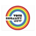 vote equality now postcards