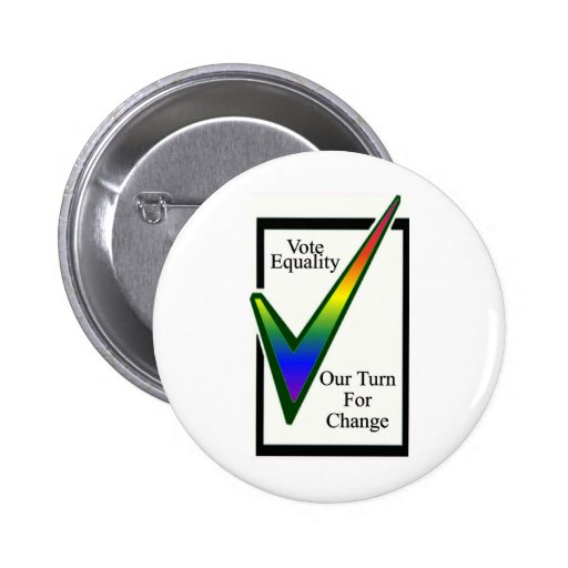 Vote Equality Pinback Buttons
