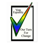 Vote Equality Postcard
