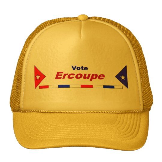 Vote Ercoupe Trucker Hat