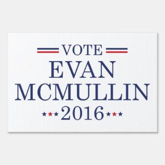 Vote Evan McMullin 2016 Sign