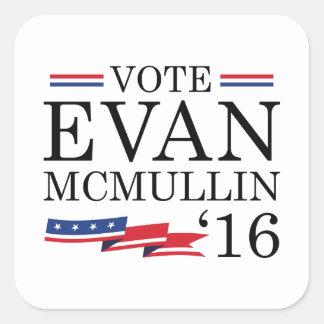 Vote Evan McMullin 2016 Square Sticker