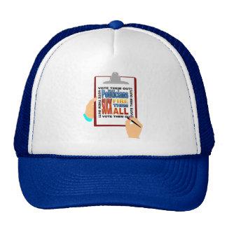 Vote Fire Politicians Out! Trucker Hat