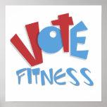 Vote Fitness Print