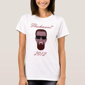 VOTE FLASHMAN2 in 2012 T-Shirt